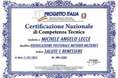 Certificazione Nazionale Metodo Mezieres