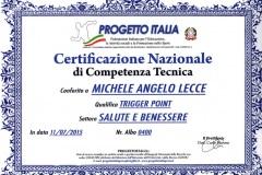 Certificazione Nazionale Trigger Point